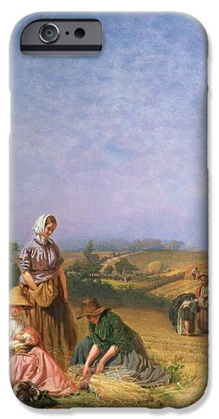 Gleaning IPhone Case by George Elgar Hicks
