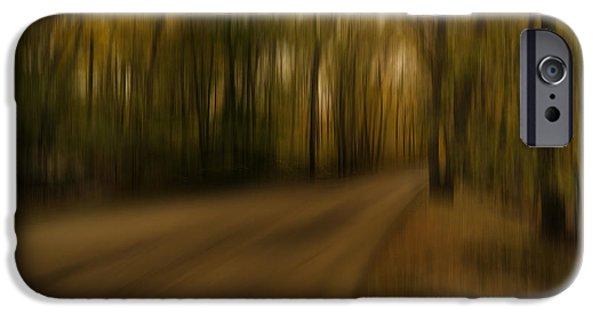 Gloomy Autumn IPhone Case by Lourry Legarde