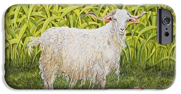 Goat IPhone 6s Case by Ditz