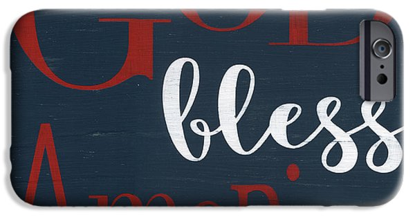 God Bless America IPhone Case by Alli Rogosich