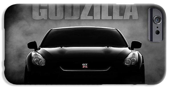 Godzilla IPhone Case by Douglas Pittman