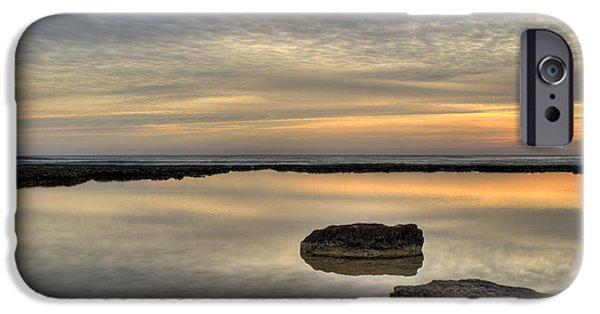 Golden Horizon IPhone Case by Stelios Kleanthous