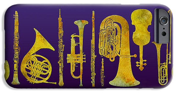 Golden Orchestra IPhone 6s Case by Jenny Armitage