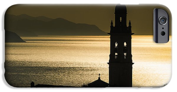 Golden Sunlight Reflected On Water IPhone Case by Yves Marcoux