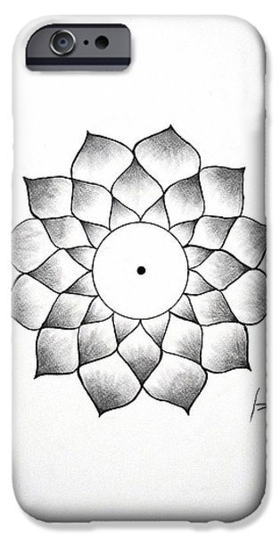 Good Karma IPhone Case by Sumit Mehndiratta