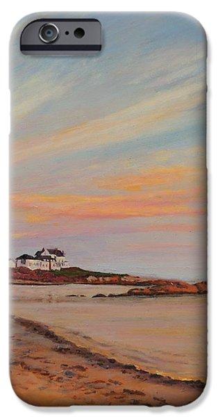 Gooseberry Beach Newport Rhode Island IPhone Case by Patty Kay Hall