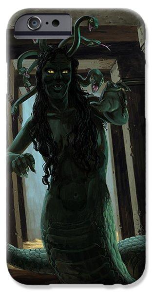 Gorgon Medusa IPhone 6s Case by Martin Davey