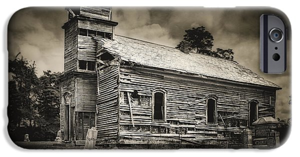 Gospel Center Church I IPhone Case by Tom Mc Nemar