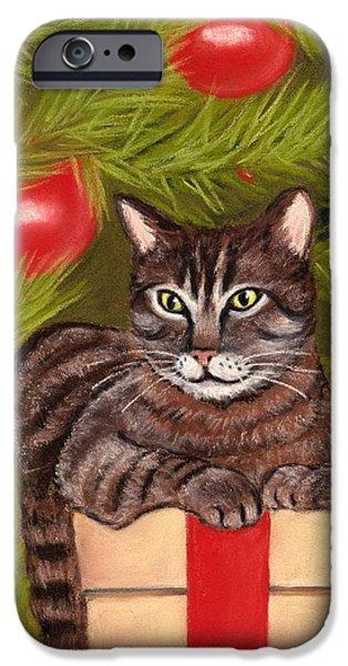 Got Your Present IPhone Case by Anastasiya Malakhova