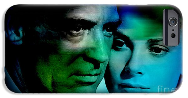 Grace Kelly And Cary Grant IPhone 6s Case by Marvin Blaine