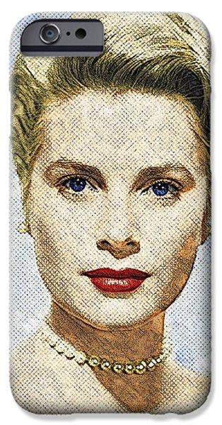 Grace Kelly IPhone 6s Case by Taylan Apukovska