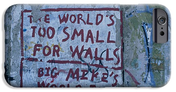 Graffiti On A Wall, Berlin Wall IPhone Case by Panoramic Images