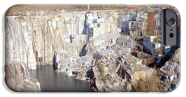 Granite Quarry, Barre, Vermont IPhone 6s Case by Panoramic Images