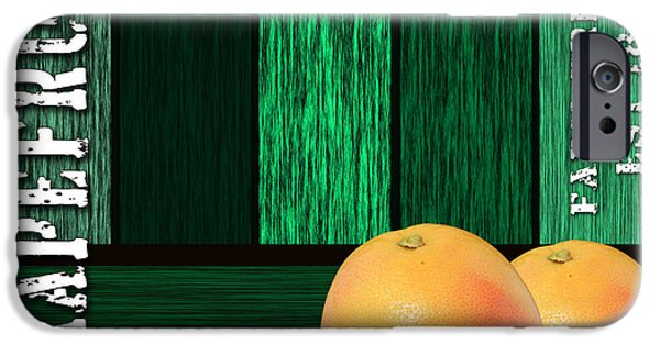 Grapefruit Sign IPhone 6s Case by Marvin Blaine