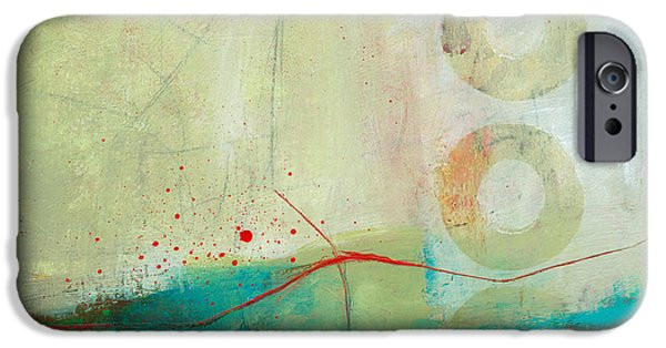 Green And Red 2 IPhone Case by Jane Davies