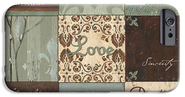 Green Brown Wtlb 1 IPhone Case by Debbie DeWitt