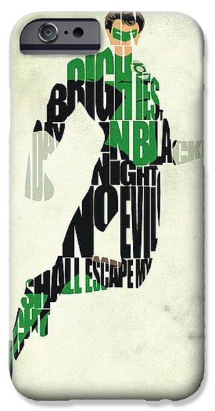Green Lantern IPhone 6s Case by Ayse Deniz