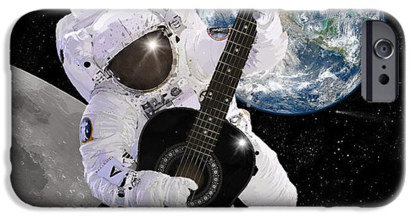 Ground Control To Major Tom IPhone Case by Nikki Marie Smith