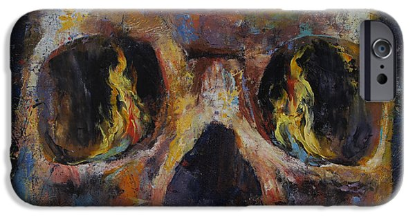 Guardian IPhone Case by Michael Creese