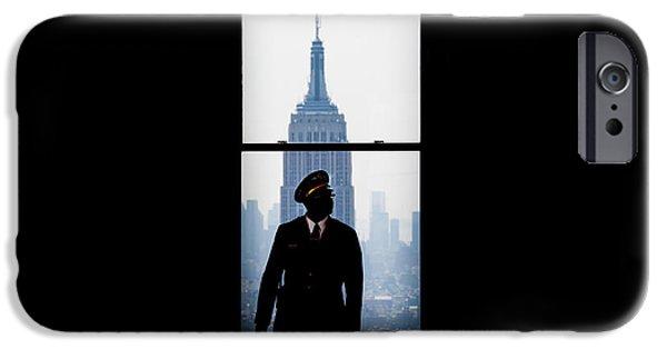 Guarding The Empire IPhone Case by Az Jackson