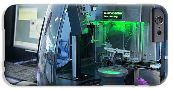 Haematology Laboratory IPhone Case by Aberration Films Ltd