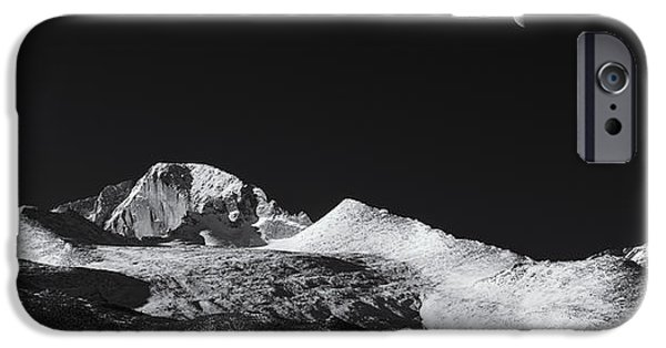 Half Moon Over Longs Peak IPhone Case by Darren  White