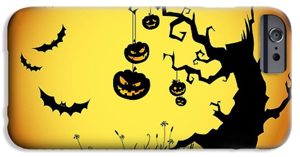 Halloween Haunted Tree IPhone 6s Case by Gianfranco Weiss