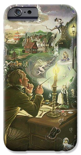 Hans Christian Andersen IPhone 6s Case by Anne Grahame Johnstone
