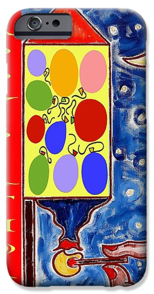 Happy Birthday 5 IPhone Case by Patrick J Murphy
