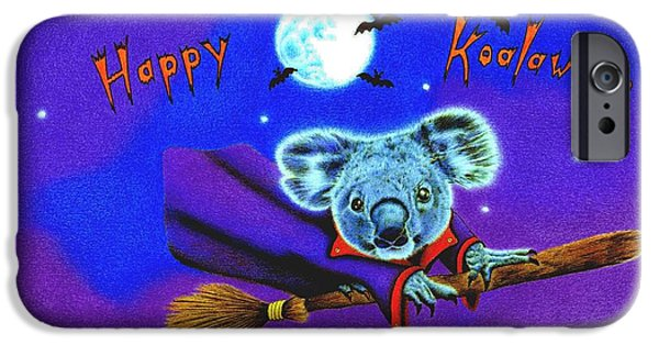 Happy Koalaween IPhone Case by Remrov