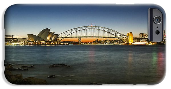 Harbour Night IPhone Case by Andrew Paranavitana