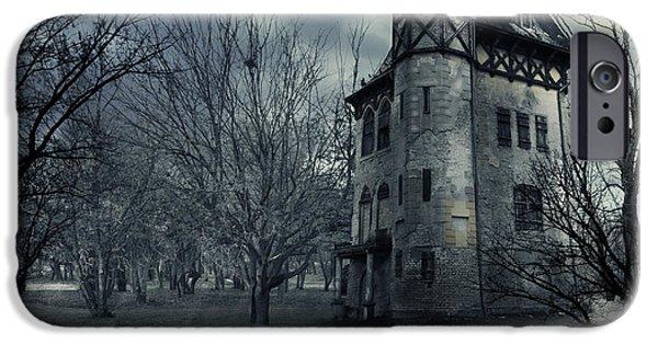 Haunted House IPhone Case by Jelena Jovanovic