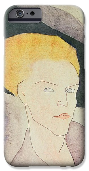 Head Of A Woman Wearing A Hat IPhone 6s Case by Amedeo Modigliani