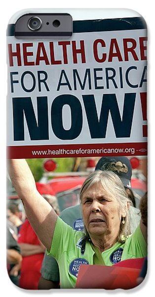 Healthcare Reform Campaign IPhone Case by Jim West