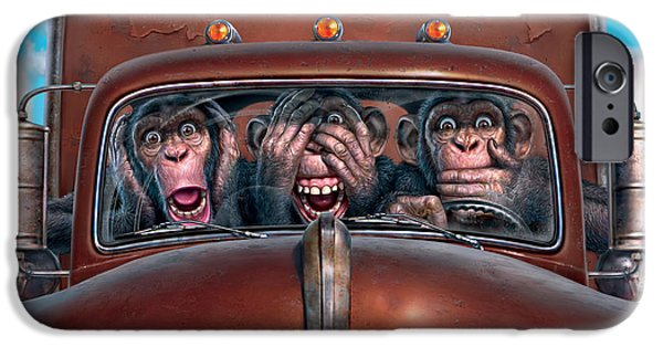 Hear No Evil See No Evil Speak No Evil IPhone 6s Case by Mark Fredrickson