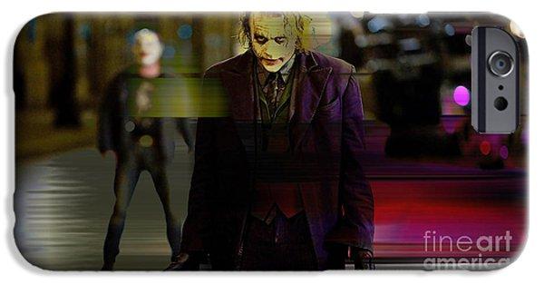 Heath Ledger IPhone 6s Case by Marvin Blaine