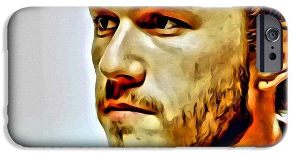 Heath Ledger Portrait IPhone 6s Case by Florian Rodarte