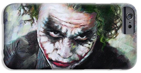 Heath Ledger The Dark Knight IPhone 6s Case by Viola El