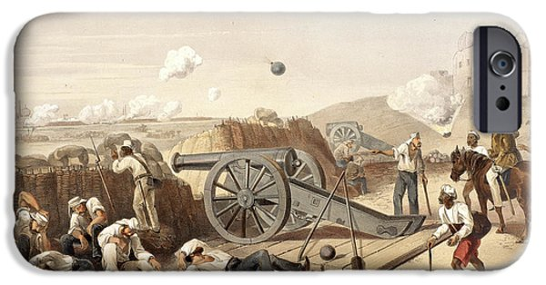 Heavy Day In The Batteries IPhone Case by British Library