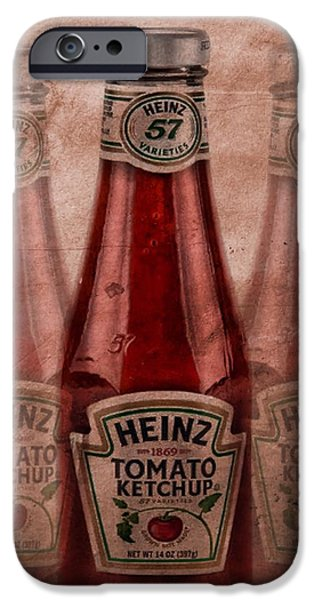 Heinz Tomato Ketchup IPhone 6s Case by Dan Sproul