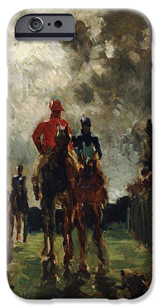 Henri De Toulouse Lautrec IPhone Case by The Jockeys
