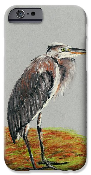 Heron IPhone Case by Anastasiya Malakhova
