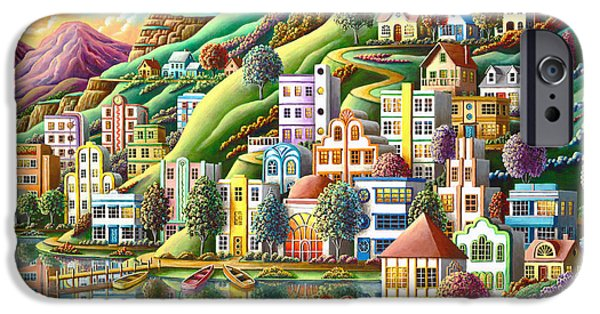 Hidden Harbor IPhone Case by Andy Russell