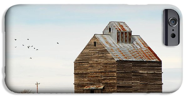 High Plains Autumn IPhone Case by Karen Slagle