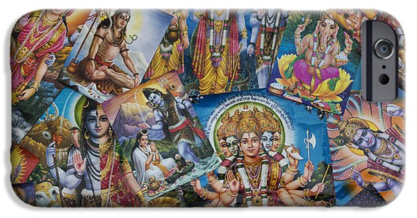 Hindu Posters IPhone Case by Tim Gainey