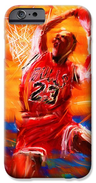 His Airness IPhone Case by Lourry Legarde