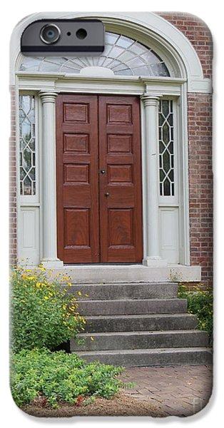 Historical Red Door IPhone Case by Aimee Mouw
