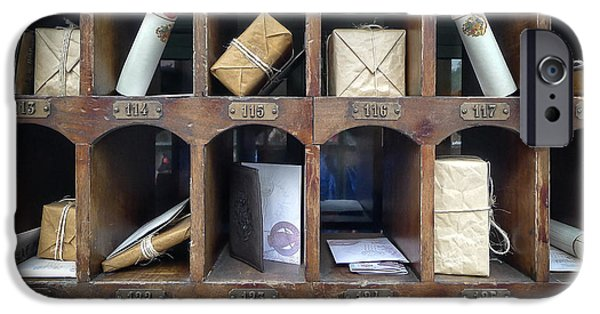 Hogsmeade Owl Post Office IPhone Case by Edward Fielding