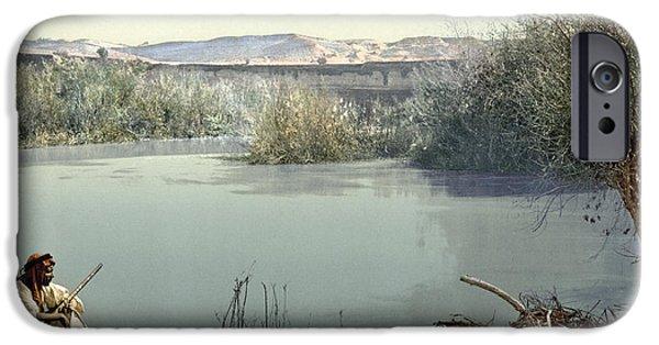 Holy Land River Jordan IPhone Case by Granger