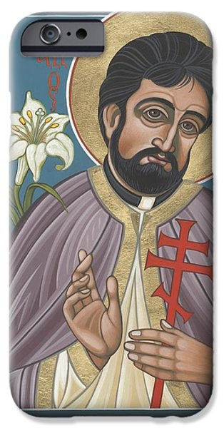 Holy New Martyr Father John Karastamatis Of Santa Cruz 216 IPhone Case by William Hart McNichols